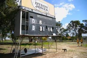 Kojonup scoreboard