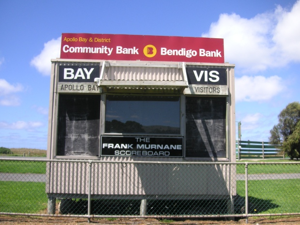 Apollo Bay scoreboard