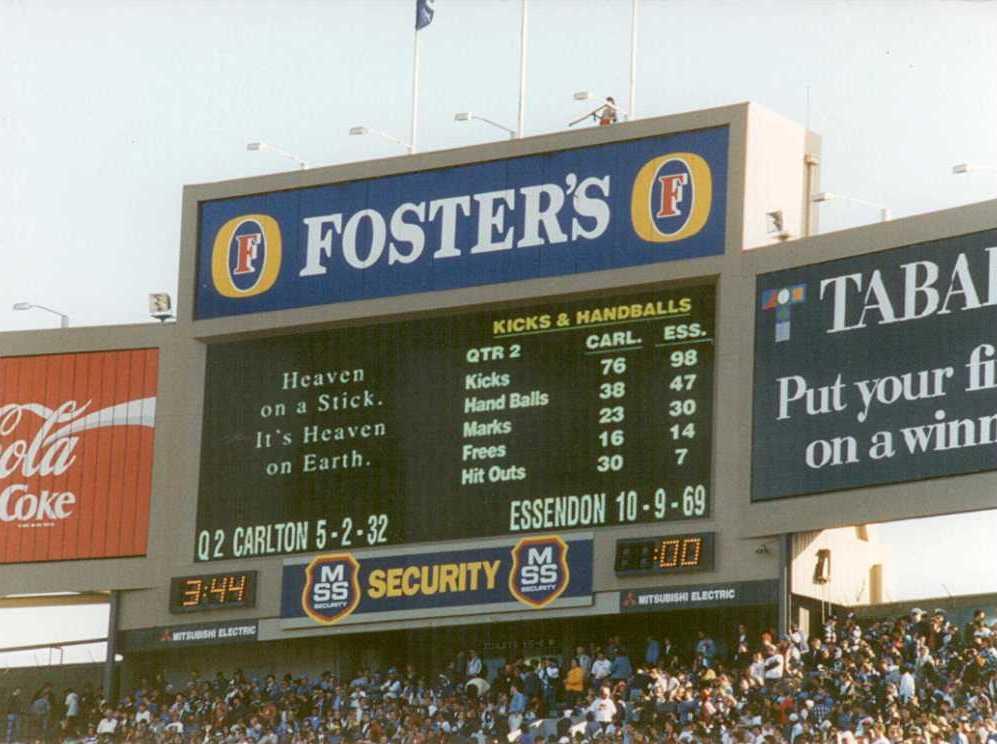 Grand Final scoreboards (part six) | Scoreboard pressure