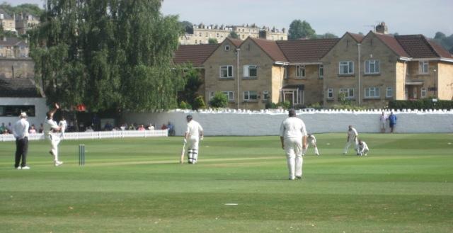 Cricket at Bath, England