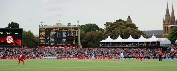 Adelaide Oval scoreboard