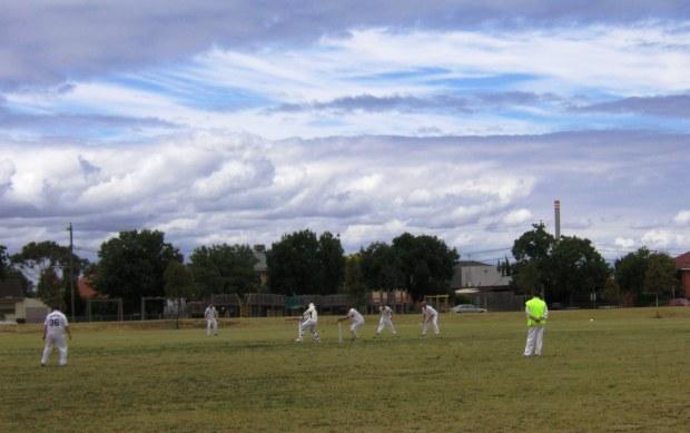 Local cricket ground