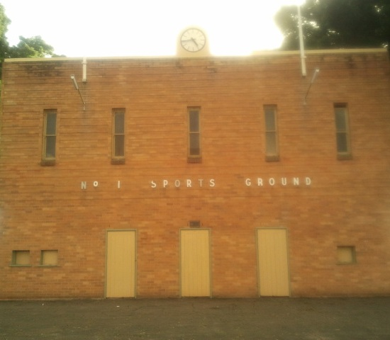 Newcastle sportsground