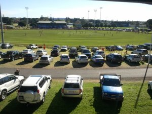 Newcastle sportsground Number one