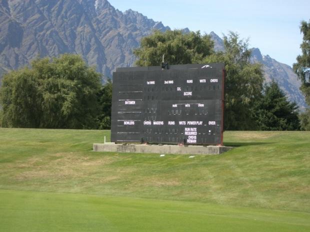 Frankton cricket ground