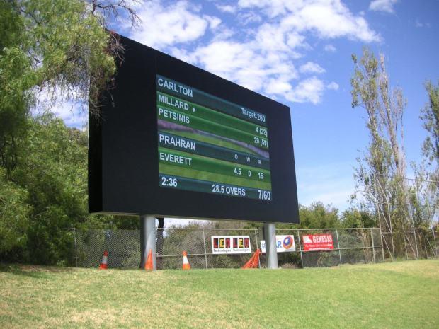 David Mandie Scoreboard