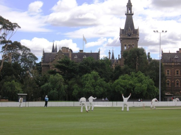 Melbourne University cricket ground
