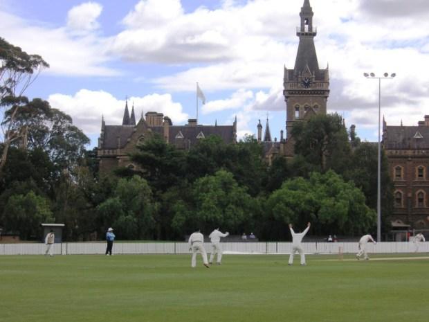 Melbourne University cricket ground