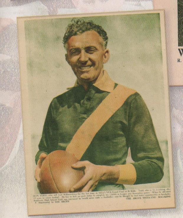Ron Todd, Williamstown champion