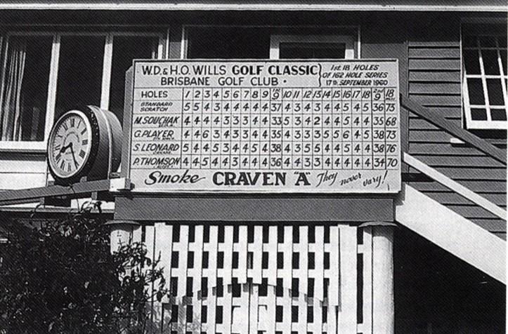 1960 Golf Scoreboard