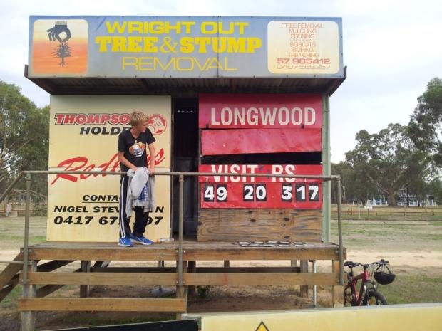 Longwood scoreboard