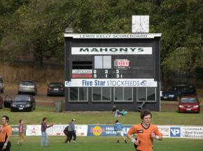 Camperdown scoreboard