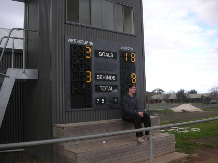 Westbourne scorebaord