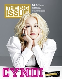 Cover of Big Issue magazine