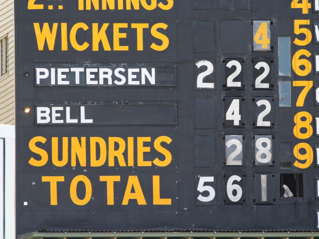Ashes Scoreboards Part 1 Scoreboard Pressure