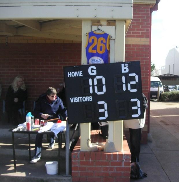 Fearon FIDA scoreboard