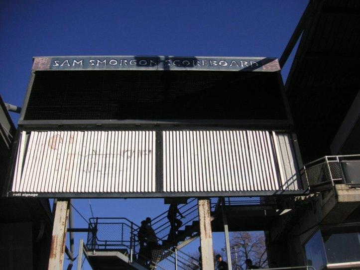 Carlton scoreboard