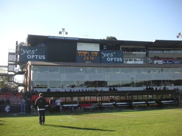 Carlton scoreboards