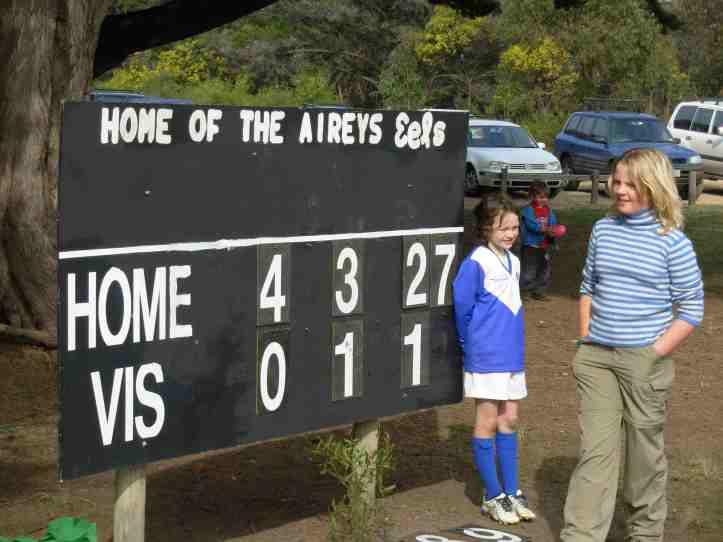 Bellbrae scoreboard