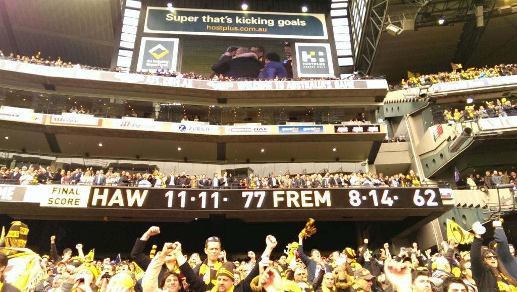 Grand Final scoreboards � 2013 Australian Football League ...