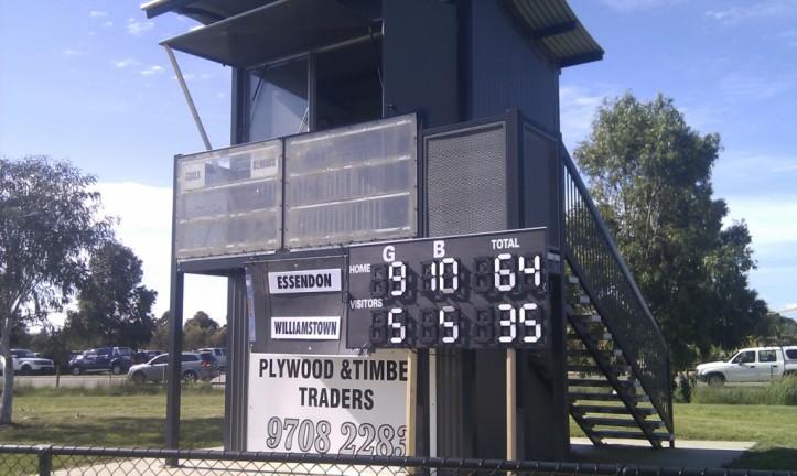 Super Rules scoreboard