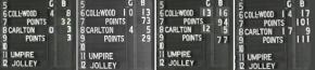1970 Grand Final scoreboard