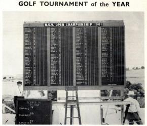 1961 NSW Golf