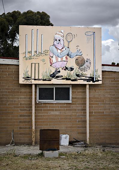Parilla mural