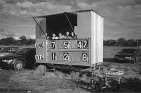 Ungarie scoreboard