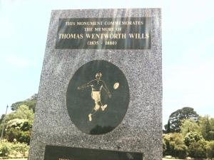 Tom Wills monument