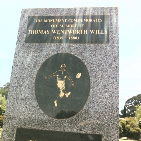 Tom Wills monument