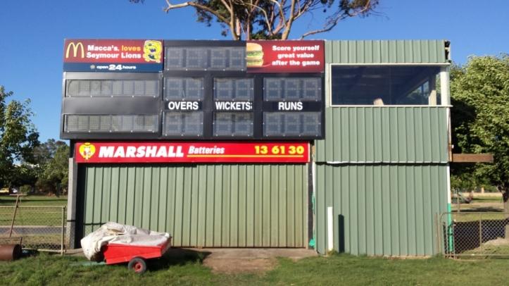 Seymour scoreboard