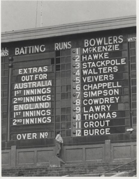 1966 MCG scoreboard