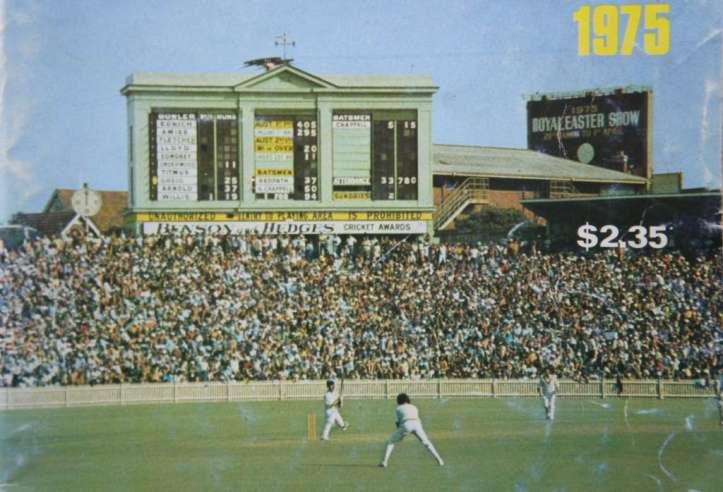 SCG scoreboard