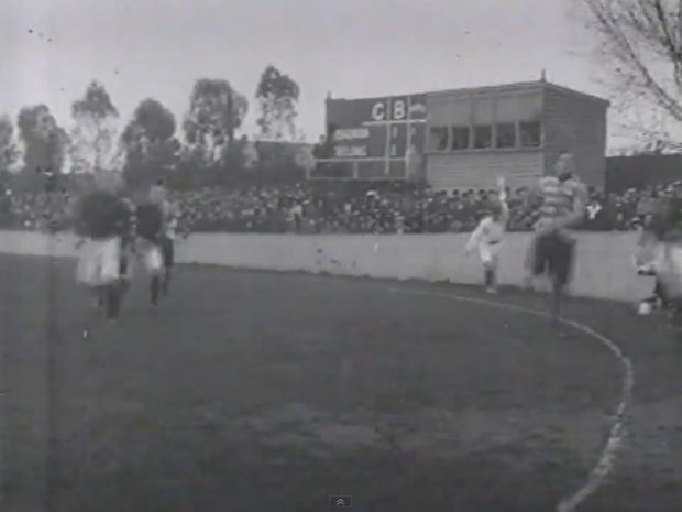 The MCG 1911 Essendon vs Geelong