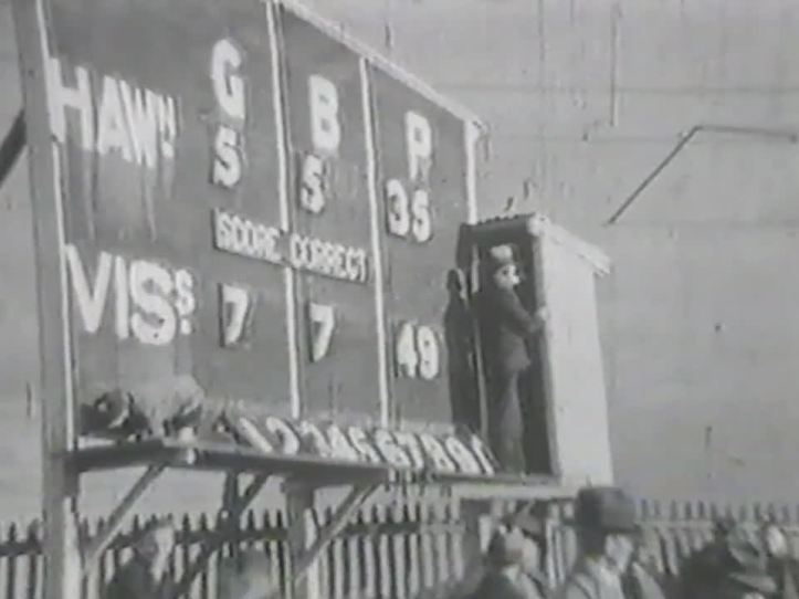 Glenferrie Oval 1931 and the home team trails.