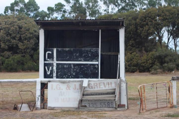 Cressy scoreboard