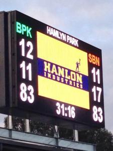 Bell Park scoreboard