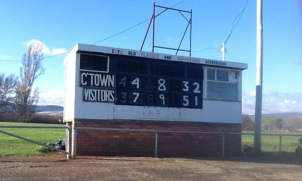 Campbell Town Scoreboard