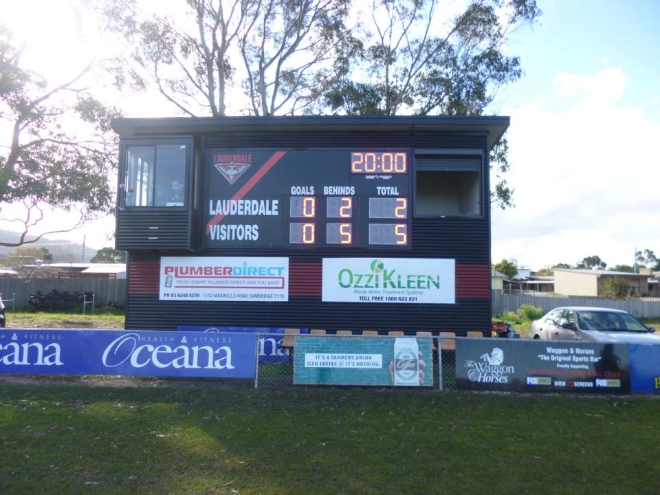 Lauserdale scoreboard