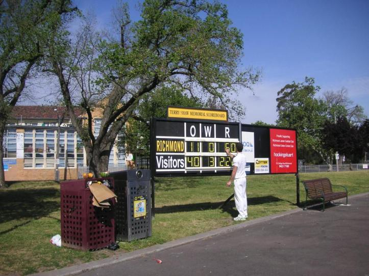 An opening partership of 50 set the scene for RUCC's victory.