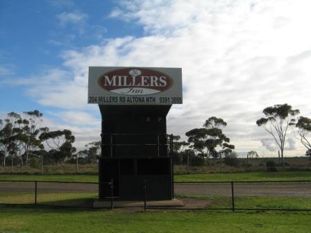 Grant Reserve scoreboard Altona