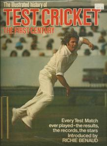 TestCricket History book