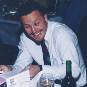 Craig Callaghan at Fremantle's club champion award in 1998. He was highly influential in the club's formative years finishinh top five in the Doig Medal in 1996, 1997 and 1998. We enjoyed great success at Waroona.