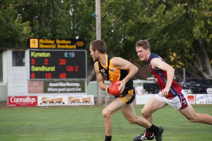 Photo sourced from Kyneton Football Netball Club Facebook page.