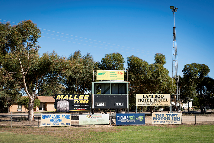 There's still some footy at Lameroo. Current premiers in The Mallee Football League, South Australia.