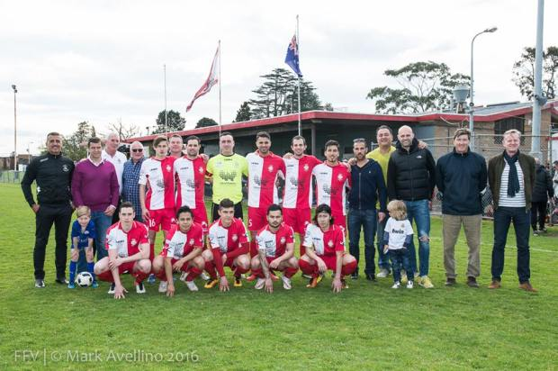 Chaplin Reserve final game squad