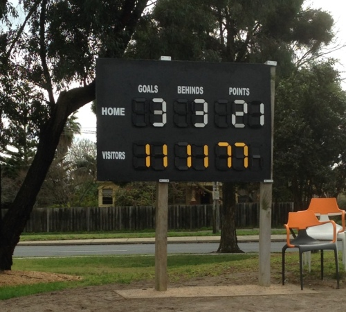 Final score in FIDA Development Lrague Grand Final.